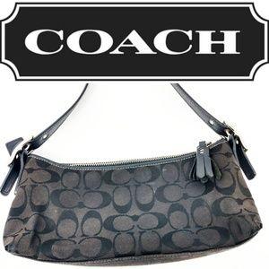 Coach (J05M-8K01) Signature C Small Black Shoulder